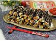 한입 쏙쏙 꼬마김밥 아삭짭조롬 맛있어!