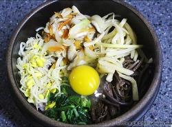 [돌솥비빔밥] 뜨끈한 돌솥 비빔밥 만들기