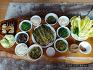 무농약 텃밭 채소로 차린 주말 식탁