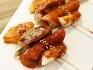 [초간단요리] 영양만점 만두떡꼬치와 매콤달콤 떡꼬치소스