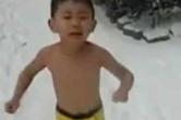 독수리아빠 논란, 4살 아들 눈밭 위에서 훈련시켜